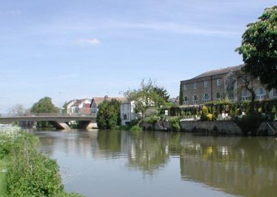 St Neots river